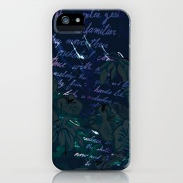 """""""Conquest of the Useless"""" by Werner Herzog Print (v. 11) iPhone Case"""