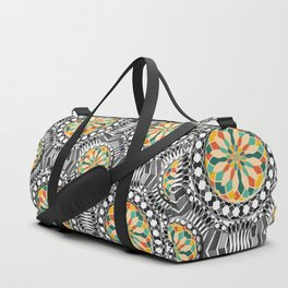 Beveled geometric pattern Duffle Bag