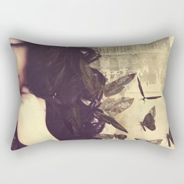 Butterfly Dreaming Rectangular Pillow