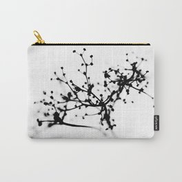 Wild plant in wintertime Carry-All Pouch