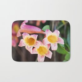 Tangerine Beauty Cross Vine - Three Plus One Bath Mat