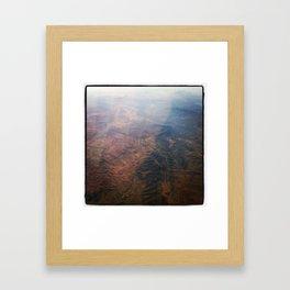 MARS IN MEXICO 2 Framed Art Print