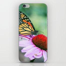 BUTTERFL GARDEN iPhone Skin