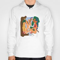 pablo picasso Hoodies featuring Picasso by John Sailor