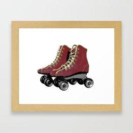 Vintage Wheels Framed Art Print