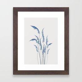 Blue flowers 2 Framed Art Print