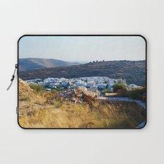 Pyrgos village Laptop Sleeve
