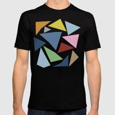 Abstraction #4 Mens Fitted Tee MEDIUM Black