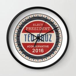 Ted Cruz 2016 Wall Clock