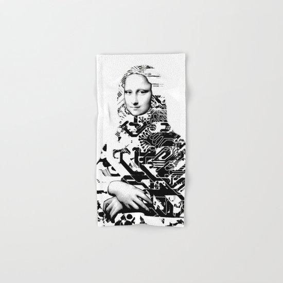 Mona Lisa Platina 1 Hand & Bath Towel