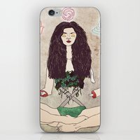zen iPhone & iPod Skins featuring Zen by minniemorrisart