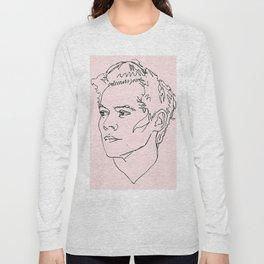 Harry Styles Drawing Long Sleeve T-shirt
