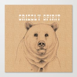 Grizzly Spirit Canvas Print