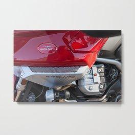Moto Guzzi Stelvio Metal Print