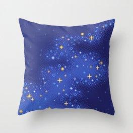 Lapis Universe Throw Pillow