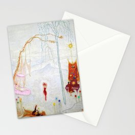 Dance Like Nobody Is Watching (Music to Dance By), A Portrait by Florine Stettheimer Stationery Cards
