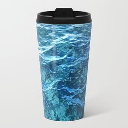 The Ocean's Surface Travel Mug