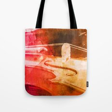 Color Violin Tote Bag