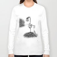 lantern Long Sleeve T-shirts featuring LANTERN by Erik Anarchie