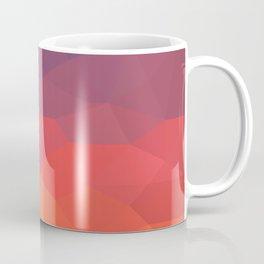 Flame Low Poly Coffee Mug