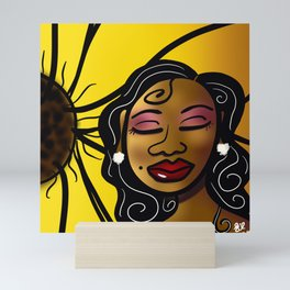 Sista Sunflower Mini Art Print