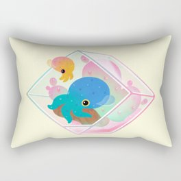 Ocean terrarium - Bobtail squids Rectangular Pillow