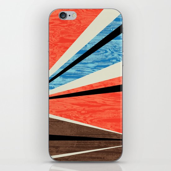 Graphic Woodgrain iPhone & iPod Skin