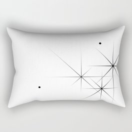 Silent Explosions Rectangular Pillow