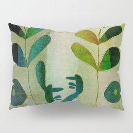 Yellow garden Pillow Sham