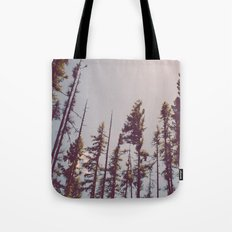 Forest Treetops Tote Bag