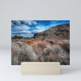 Nevada Mountain Range Mini Art Print