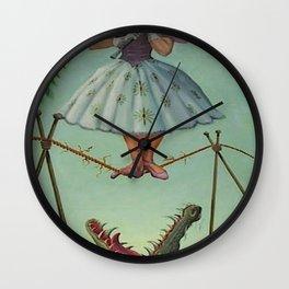 haunted mansion umbrela Wall Clock