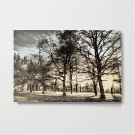 Greenwich Park London Art Metal Print