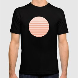 The Sweet Life Collection - Peach Coral Sun Gradient T-shirt