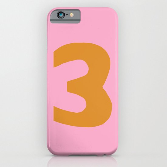 Number 3 iPhone & iPod Case