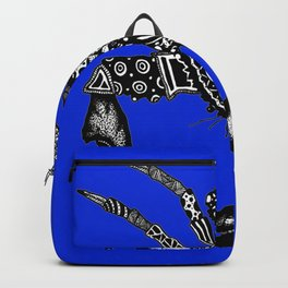 Maryland Blue Crab graffiti Backpack