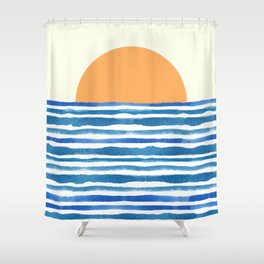 When The Sun Comes Up Shower Curtain