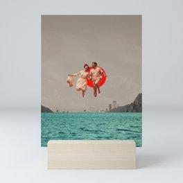 Don't Look Back Mini Art Print