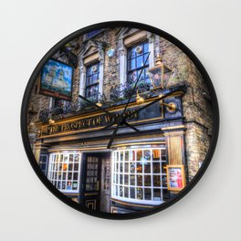 Prospect of  Whitby Pub London 1520 Wall Clock