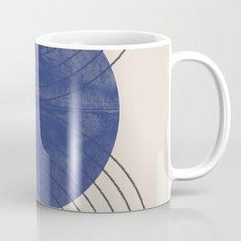 Blue Contemporary Design Coffee Mug