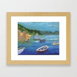 Portofino, Italy Framed Art Print