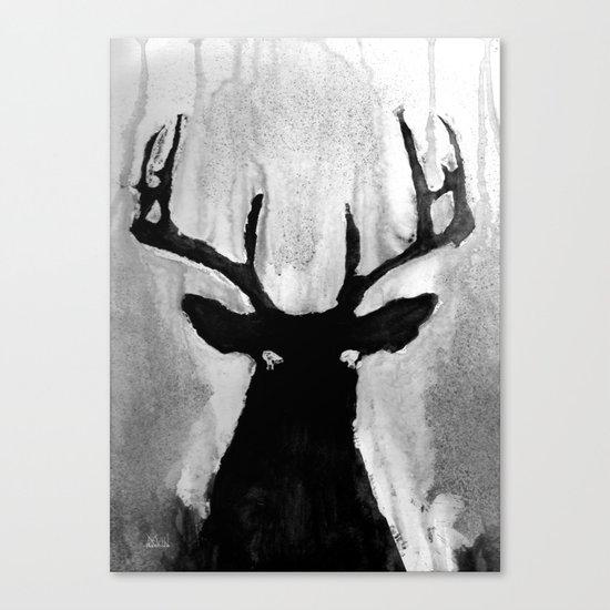 Whitetail - Buck Canvas Print