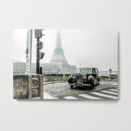 Royce and Eiffel Metal Print