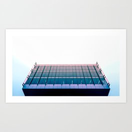 Parallel & Perpendicular Lines Art Print