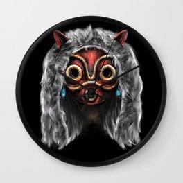 The Wolf Princess Wall Clock