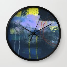 Sea Meditation 1 Wall Clock