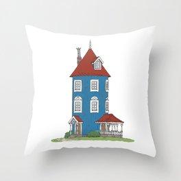 Moomin's House Throw Pillow