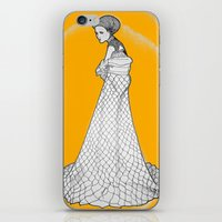 nouveau iPhone & iPod Skins featuring Nouveau by Madame Mim