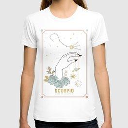 Scorpio Zodiac Series T-shirt