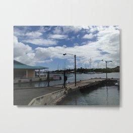 St. Thomas Marina, USVI Metal Print